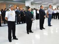 """Representantes da Comunidade Marítima recebem prêmios do """"Controle Naval do Tráfego Marítimo 2015/2016"""""""