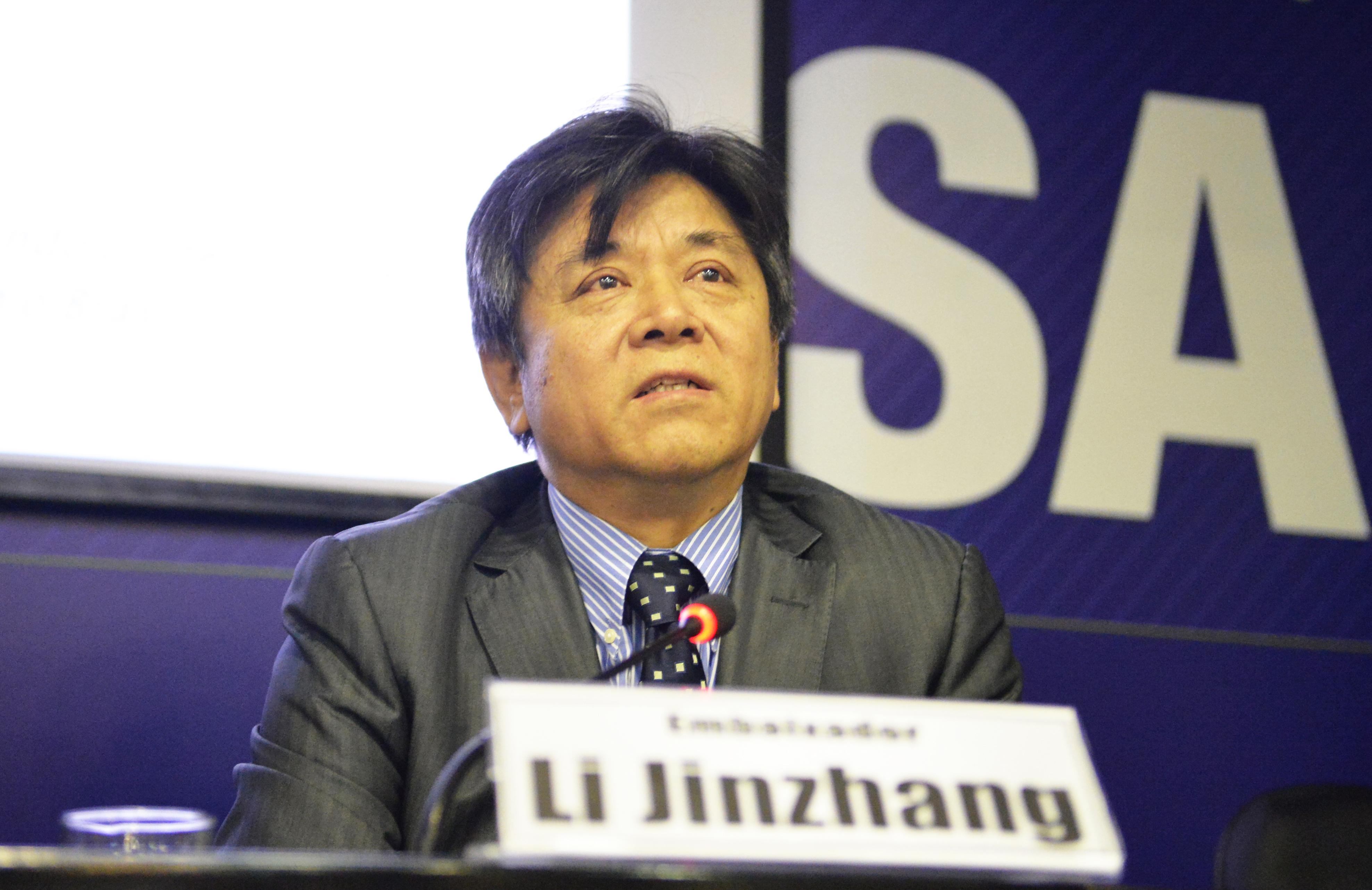 Embaixador da China no Brasil Participa de Ciclo de Debates em Brasília
