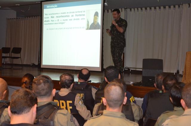 Exército ministra Estágio de Sensibilização de Ameaça Terrorista em Santuário de Aparecida