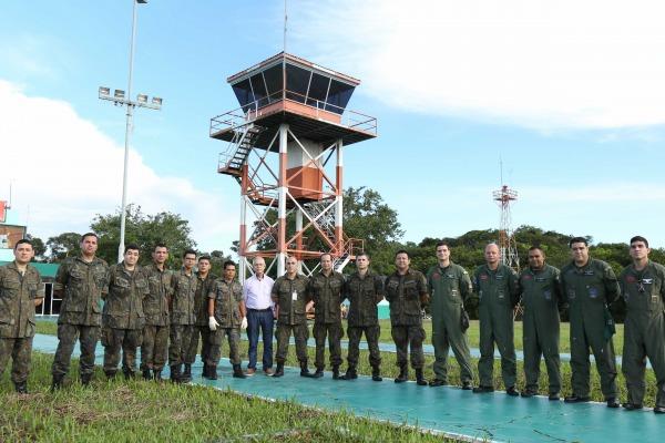 Aeronáutica prepara estrutura para atender demanda de tráfego aéreo em Parintins (AM)