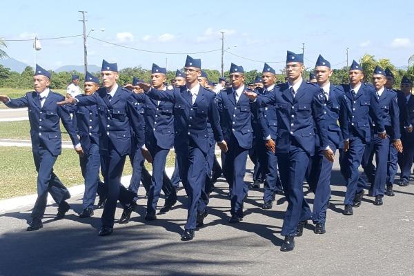 Base Aérea de Fortaleza forma novos soldados da Aeronáutica