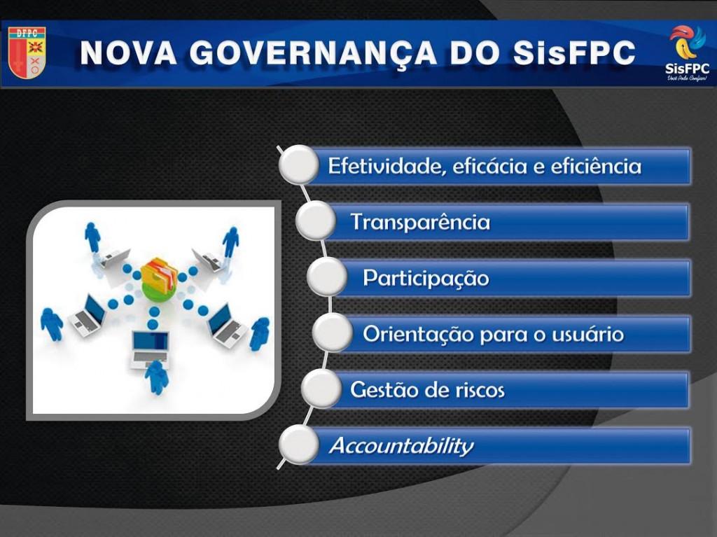 Nova governança do SisFPC