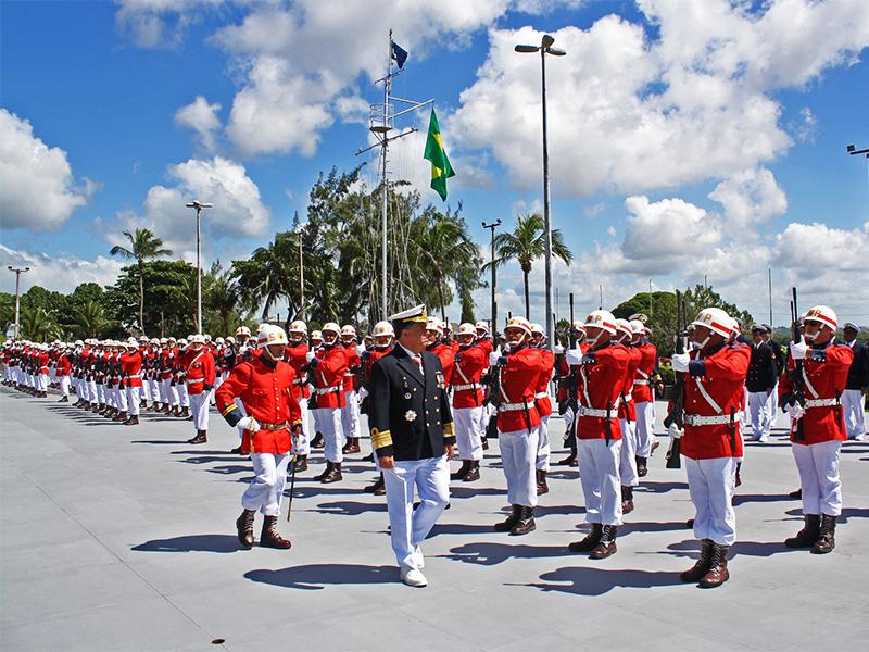 Comando do 3º DN realiza cerimônia em homenagem à Data Magna da Marinha do Brasil