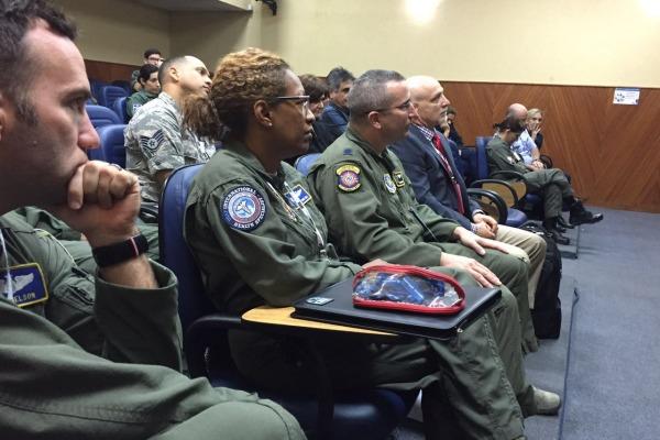 Hospital de campanha é tema de intercâmbio entre FAB e Força Aérea Americana