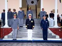 Autoridades presentes na cerimônia