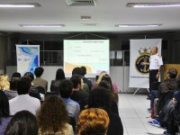 CMG Pinheiro Carvalho profere palestra para alunos do curso de Direito da USP