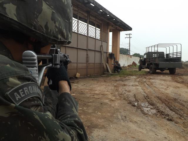 FT Ipiranga na Operação Anhanguera, em Preparação para os Jogos Rio 2016