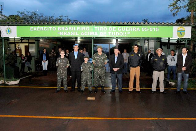 """Galeria homenageia """"Peacekeepers"""" de Assis Chateaubriand, no Estado do Paraná"""