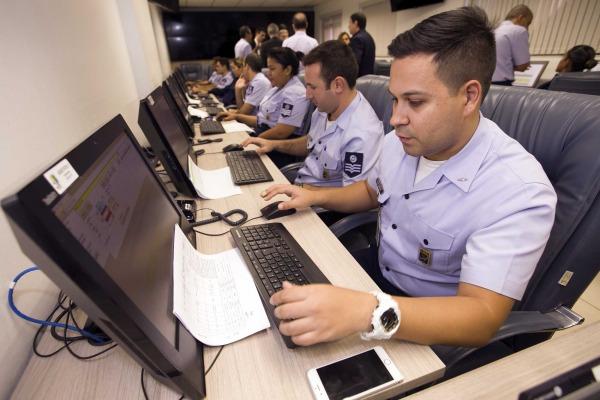 Secretaria de Aviação Civil acompanha treinamento na Sala Master para as Olimpíadas