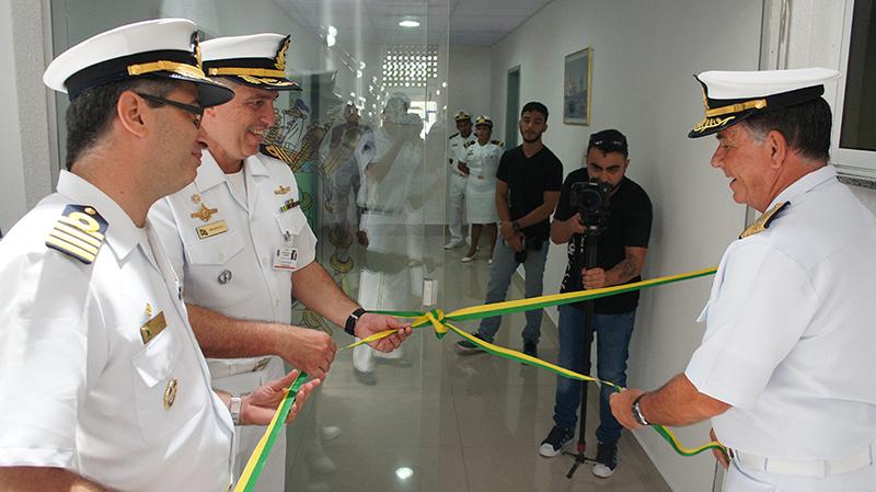 Centro de Simulação Tática é inaugurado na Escola de Aprendizes-Marinheiros do Ceará