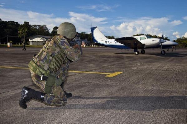 FAB intensifica vigilância do espaço aéreo nas regiões de fronteira durante Ágata 11