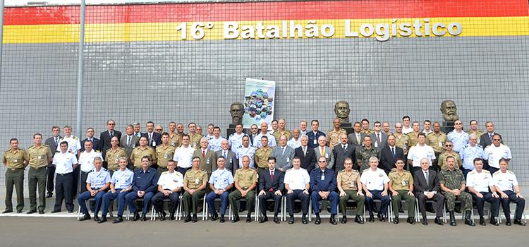 Seminário aborda atuação integrada de logística e mobilização militar