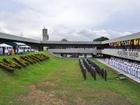 Militares formados durante cerimônia alusiva ao Dia Internacional dos Mantenedores da Paz