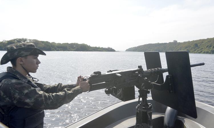 A Ágata é uma iniciativa do Ministério da Defesa, sob coordenação do EMCFA, com a participação de mais de 30 agências governamentais