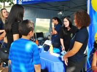 Equipe de assistência social do SASM realiza atendimento integrado durante o festival