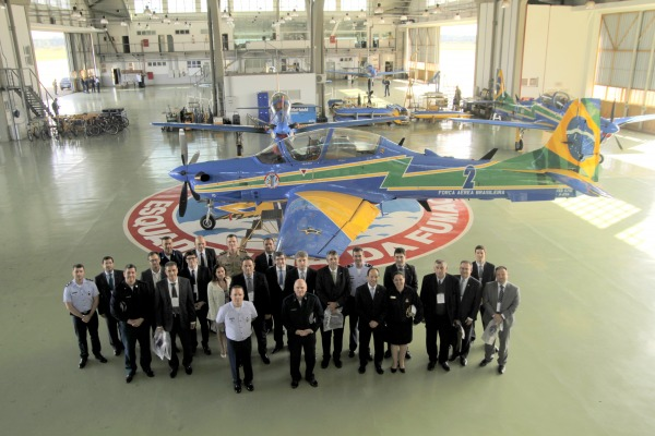 Membros do Judiciário Federal conhecem Academia da Força Aérea
