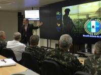 Jungmann conhece instalações da Coordenação Geral de Defesa de Área para os Jogos Rio 2016 - Foto: Adriana Fortes/MD