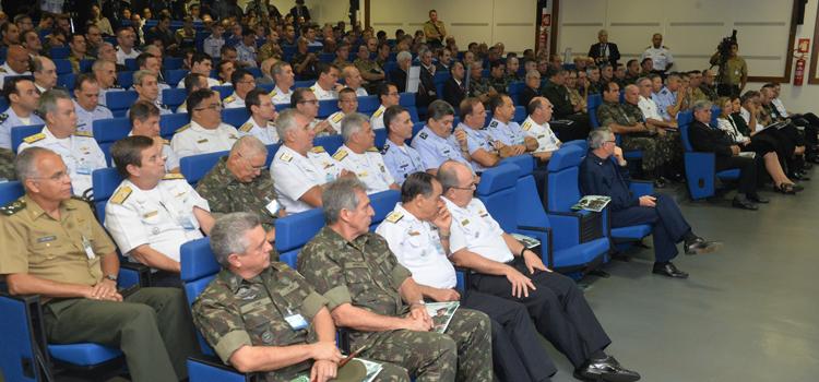 Seminário reúne todas as autoridades do eixo de Defesa Nacional envolvidas nos Jogos Olímpicos e Paralímpicos Rio 2016