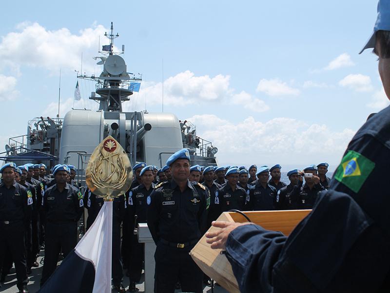 FTM-UNIFIL realiza exercícios operativos com a presença do Force Commander da missão