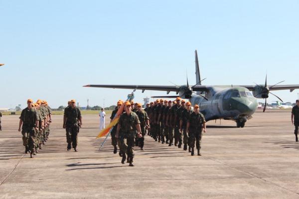 Cerimônia na Base Aérea de Campo Grande celebra Aviação de Busca e Salvamento