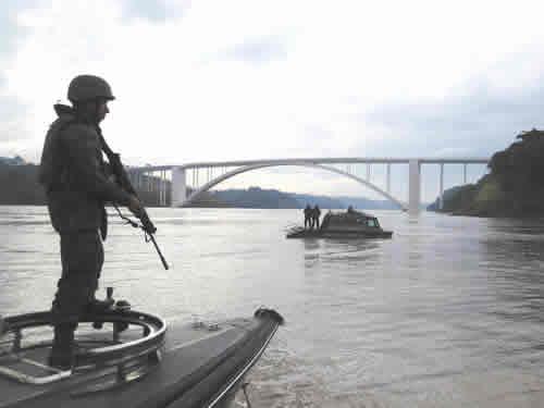 """Comando do 5ºDN apresenta balanço final da Operação """"Ágata 11"""""""