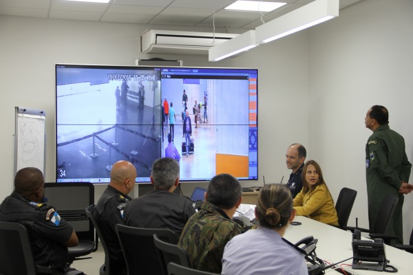 Aeronáutica e Agências de Segurança fazem treinamento no Aeroporto do Galeão