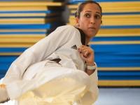 A 3º sargento Íris Silva Tang Sing, atleta de taekwondo, ingressou no Exército quando achava que desistiria do esporte
