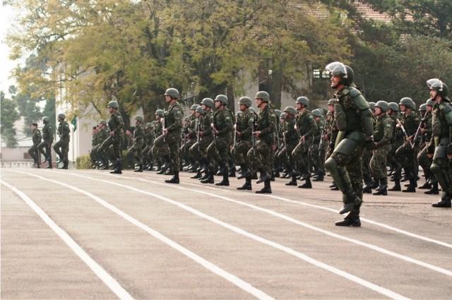 Batalhão Olímpico do Paraná prepara-se para os Jogos Rio 2016