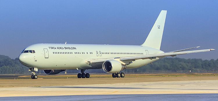 O Boeing 767 será utilizado nos Jogos Rio 2016