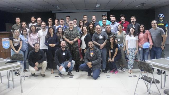 CCOPAB realiza Estágio para Assessores de Imprensa e Jornalistas em Áreas de Conflito