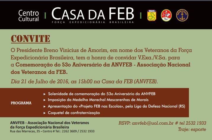 72 Anos do Desembarque da Força Expedicionária Brasileira na Itália