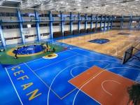 Ginásio climatizado do Cefan. Ao fim dos Jogos, estrutura ficará de legado para a prática de esporte de alto rendimento e de base.