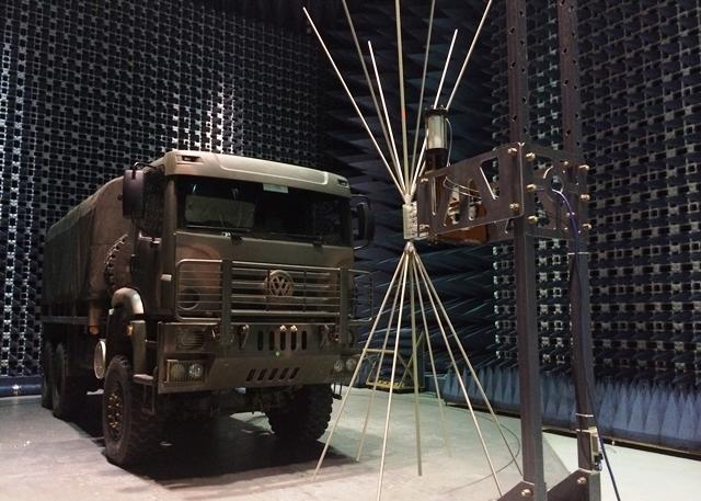 Centro de Avaliações do Exército acompanha Ensaio de Interferência Eletromagnética