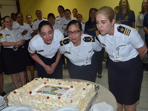 Comando do 7ºDN comemora o aniversário do ingresso da mulher na Marinha do Brasil