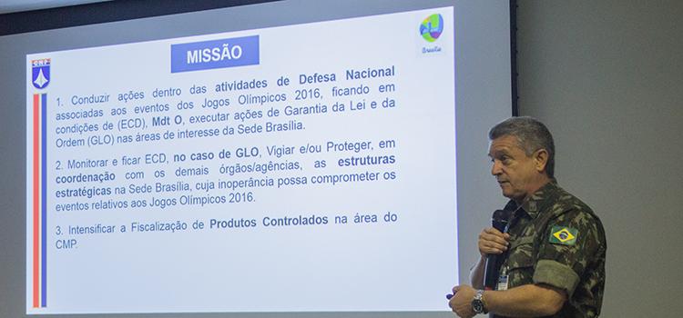 Comando Militar do Planalto promove evento de Sensibilização de Ameaça Terrorista para embaixadas