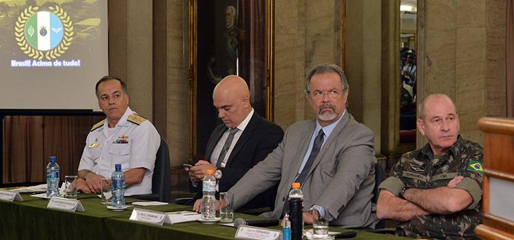 Ministro da Defesa confirma atuação de 41 mil militares das Forças Armadas nos Jogos Rio 2016