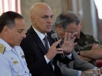 O ministro Alexandre Moraes destacou a atuação integrada entre os órgãos de segurança durante as Olimpíadas
