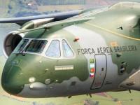 Cargueiro militar KC-390 será exibido na maior Feira de aviação, em Farnborough, na Inglaterra