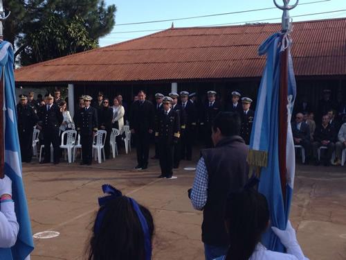 DelUruguaiana participa do aniversário da Prefectura Naval da Argentina