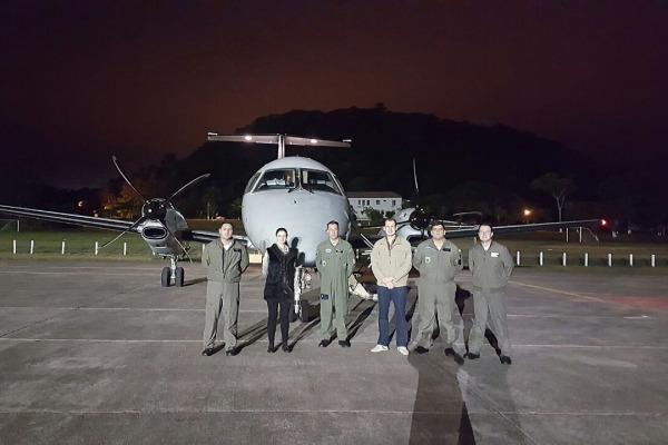Esquadrões da FAB realizam transportes de órgãos em todo o País