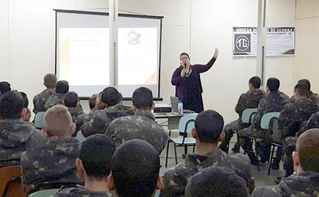 Estatuto da Criança e do Adolescente foi tema de palestra em Tiro de Guerra