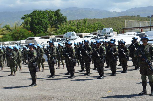 """Operação """"Boxe pour la Paix"""" em Porto Príncipe, no Haiti"""