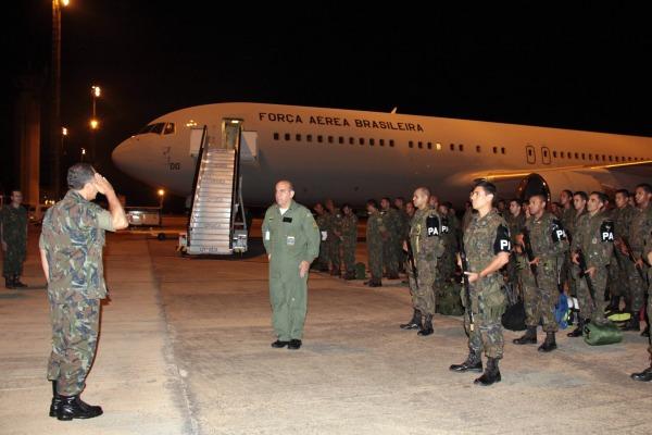 Militares da Amazônia Ocidental embarcam rumo às Olimpíadas Rio 2016