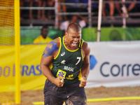 Sgt Gusmão joga pela seleção na Hungria/CBHb