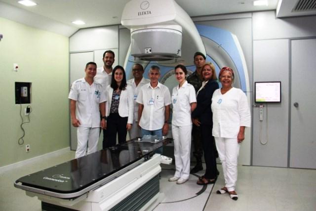 Radioterapia do Hospital Central do Exército retoma suas atividades