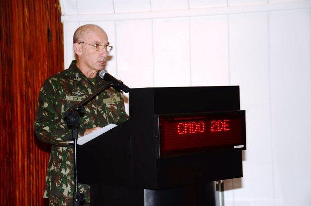 Segunda Reunião do Estado-Maior Conjunto do Comando de Defesa de Área de São Paulo