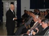 Prof. Gustavo Alberto Trompowsky Heck – Presidente da ADESG- AN durante a Solenidade de Abertura do XXXI CEPE de Vitória.