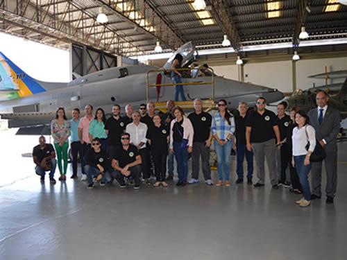 ADESG-MG visita Complexo Aeronaval de São Pedro da Aldeia