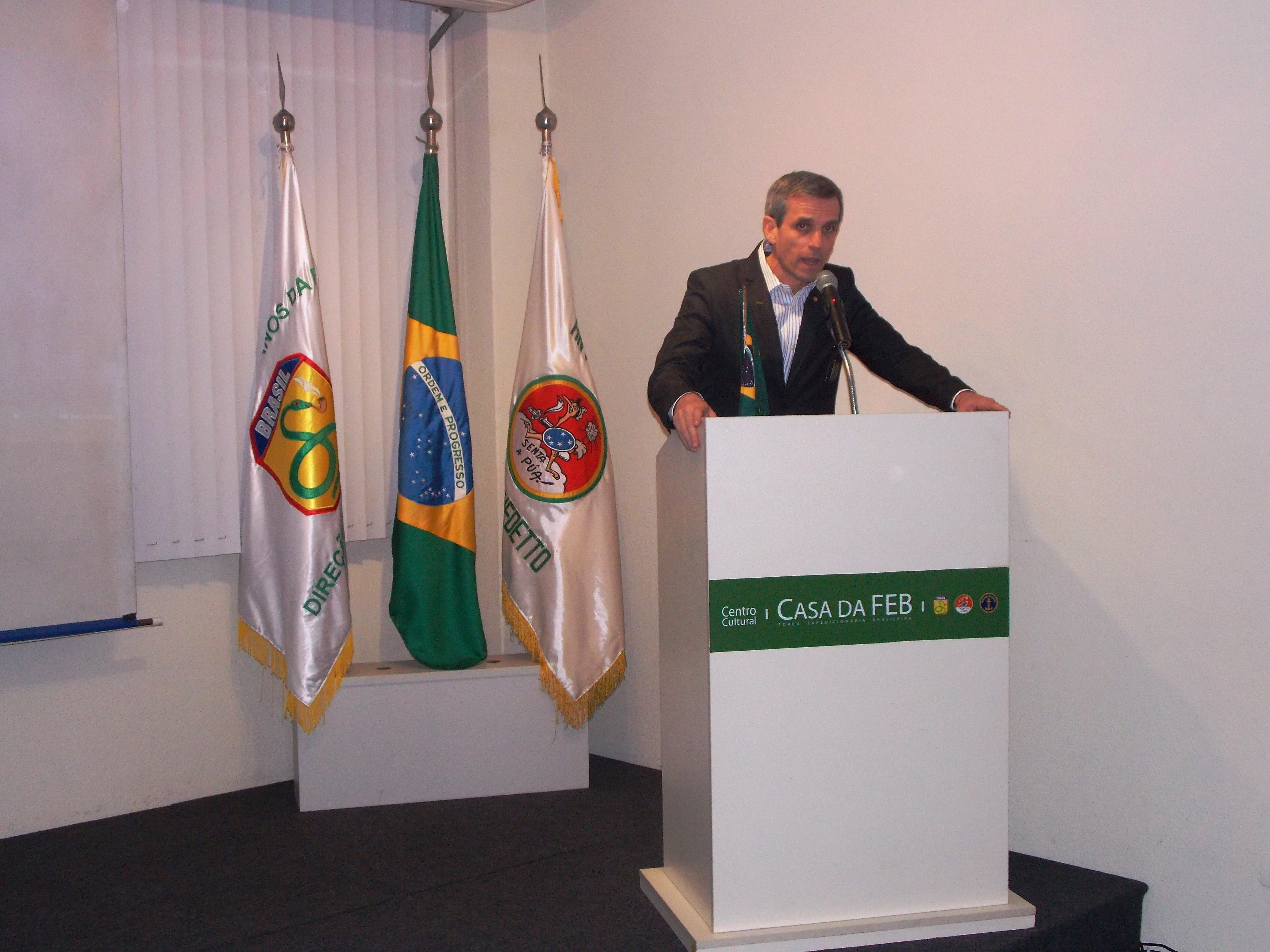 Casa da FEB comemora 72 Anos do Desembarque da Força Expedicionária Brasileira na Itália