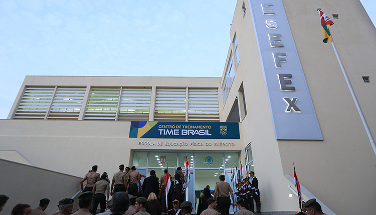 Centro de Treinamento de Alta Performance do Time Brasil, CCFEx é entregue ao COB
